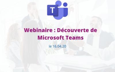 Webinaire Microsoft Teams