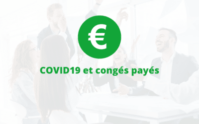 COVID19 et congés payés