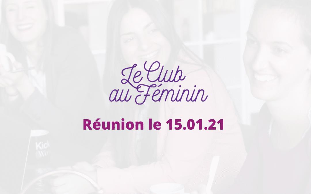 Le Club au Féminin d'OPEn 15/01