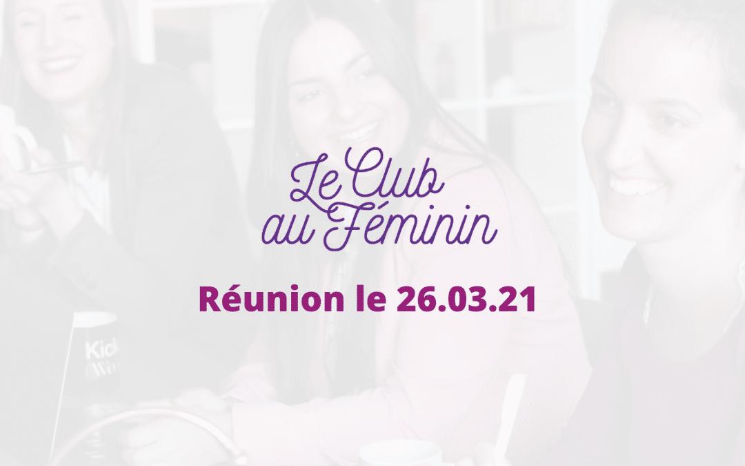Le Club au Féminin d'OPEn 26/03