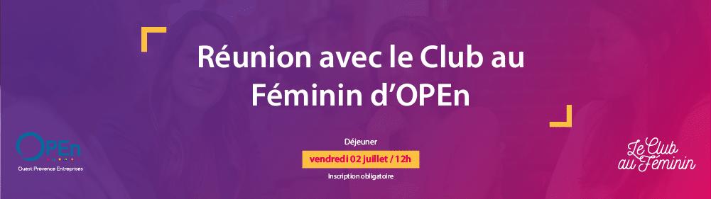 Le club au Féminin 02/07/2021